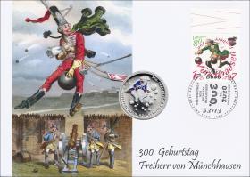 L-9395 • 300. Geburtstag Freiherr von Münchhausen PP-Ausgabe