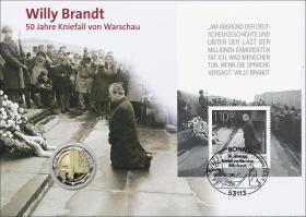 L-9435 • Willy Brandt - 50 Jahre Kniefall von Warschau PP-Ausgabe
