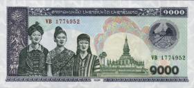 Laos P.32Aa 1000 Kip 1998 (1)