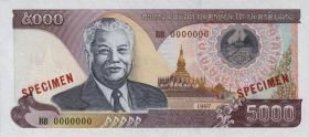 Laos P.34s 5000 Kip (1997) Specimen (1)