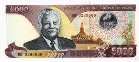 Laos P.34b 5000 Kip 2003 (1)