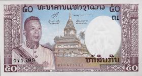 Laos P.12 50 Kip (1963) (1)