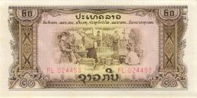 Laos P.21a 20 Kip o.J (1/1-)