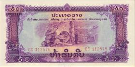 Laos P.22a 50 Kip o.J (1)