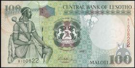 Lesotho P.19d 100 Maloti 2006 (1)