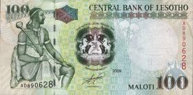 Lesotho P.19e 100 Maloti 2009 (1)