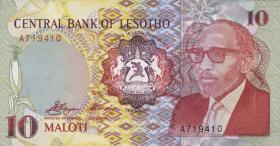 Lesotho P.11 10 Maloti 1990 (1)