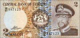 Lesotho P.04a 2 Maloti 1981 (1)