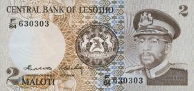 Lesotho P.04b 2 Maloti 1984 (1)