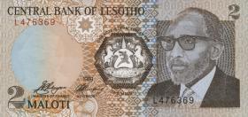 Lesotho P.09 2 Maloti 1989 (1)