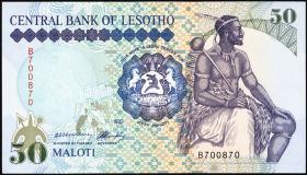 Lesotho P.14 50 Maloti 1992 (1)