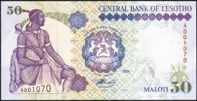 Lesotho P.17a 50 Maloti 1994 (1)