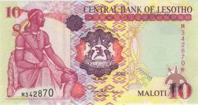 Lesotho P.15c 10 Maloti 2005 (1)
