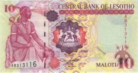 Lesotho P.15f 10 Maloti 2009 (1)