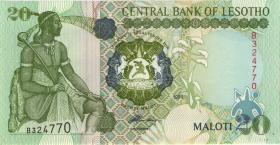 Lesotho P.16a 20 Maloti 1994 (1)