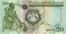 Lesotho P.16d 20 Maloti 2005 (1)