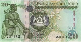 Lesotho P.16f 20 Maloti 2007 (1)
