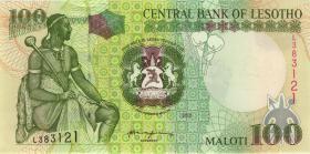 Lesotho P.19b 100 Maloti 2001 (1)