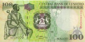 Lesotho P.19c 100 Maloti 2006 (1)