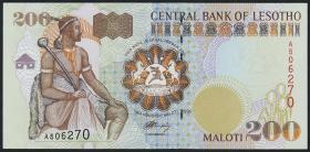 Lesotho P.20a 200 Maloti 1994 (1)