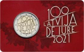 Lettland 2 Euro 2021 199 Jahre Lettland Du Jure Coincard