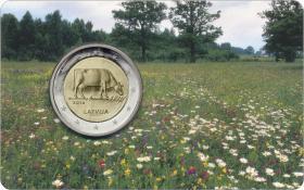 Lettland 2 Euro 2016 Milchwirtschaft Coincard