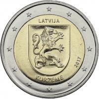 Lettland 2 Euro 2017 Kurland/ Kurzeme