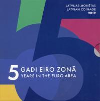 Lettland Euro-KMS 2019 Folder