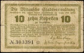 Lettland / Latvia LE 39: 10 Kopeken 1915 (4)