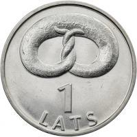 Lettland 1 Lats 2005 Brezel