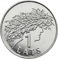 Lettland 1 Lats 2006 Mittsommer