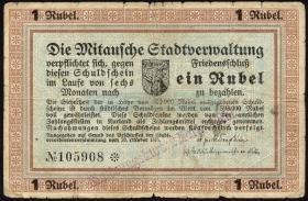 Lettland / Latvia LE 44 : 1 Rubel 1915 (5)