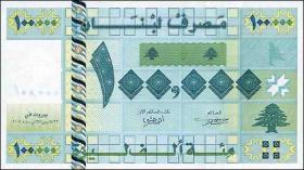 Libanon / Lebanon P.89 100.000 Livres 2004 (1)