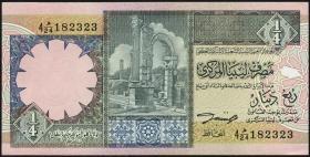 Libyen / Libya P.57b 1/4 Dinar (ca.1991) (1)