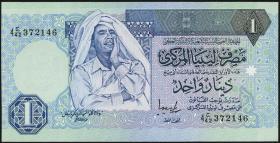 Libyen / Libya P.59b 1 Dinar (1993) (1)