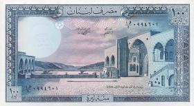 Libanon / Lebanon P.66d 100 Livres 1988 (1)