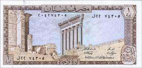 Libanon / Lebanon P.61 1 Livre 1978-80 (1)