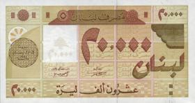 Libanon / Lebanon P.72 20000 Livres 1994 (1)