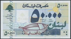 Libanon / Lebanon P.82 50000 Livres 2001 (1)