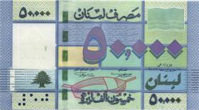 Libanon / Lebanon P.94b 50.000 Livres 2012 (1)