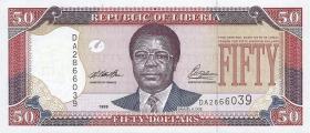 Liberia P.24 50 Dollars 1999 (1)
