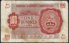 Libyen / Libya P.M06 100 Lire (1943) (4)