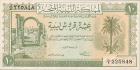 Libyen / Libya P.06 10 Piastres L. 1951 (1)