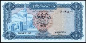 Libyen / Libya P.35b 1 Dinar (1972) (1)