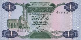 Libyen / Libya P.49 1 Dinar (1984) (1)