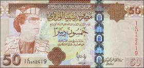 Libyen / Libya P.75 50 Dinars (2008)