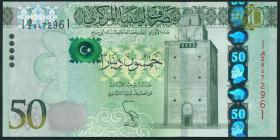Libyen / Libya P.80 50 Dinars 2013 (1)