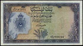 Libyen / Libya P.25 1 Libyan Pound L. 1963 (2)