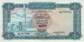 Libyen / Libya P.35b 1 Dinar (1972) (2+)