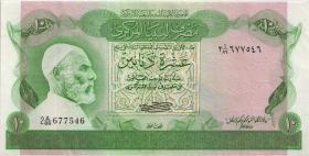Libyen / Libya P.46a 10 Dinars (1980) (2+)